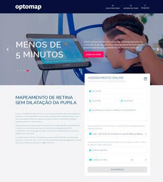 Site do Optomap.com.br